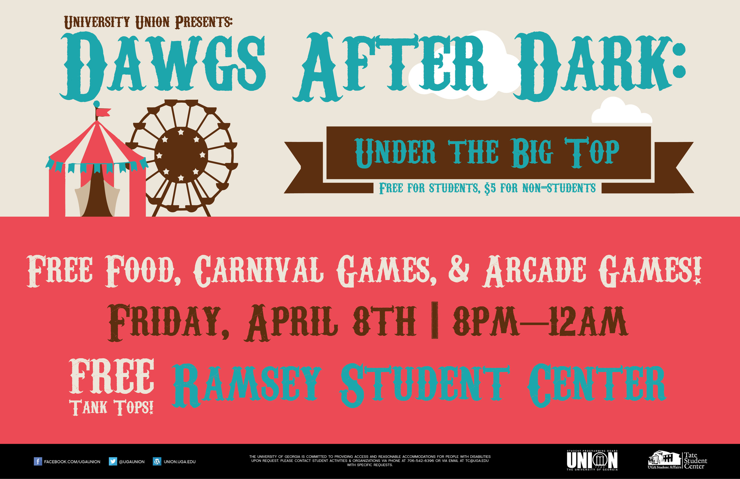 Dawgs After Dark Poster