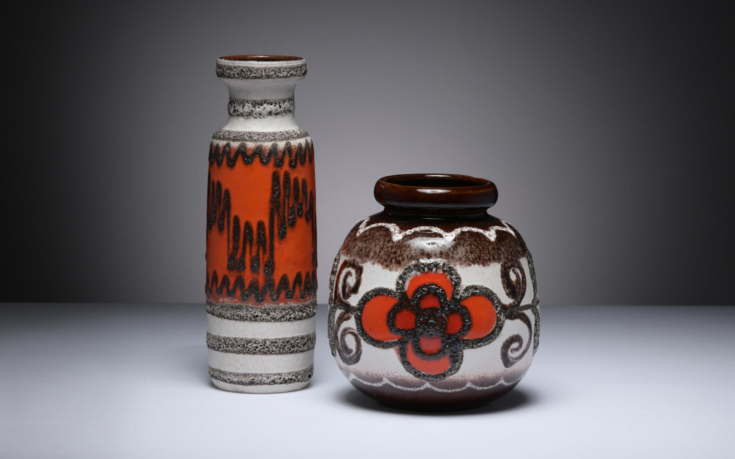 Scheurich Midcentury Vasen Keramik