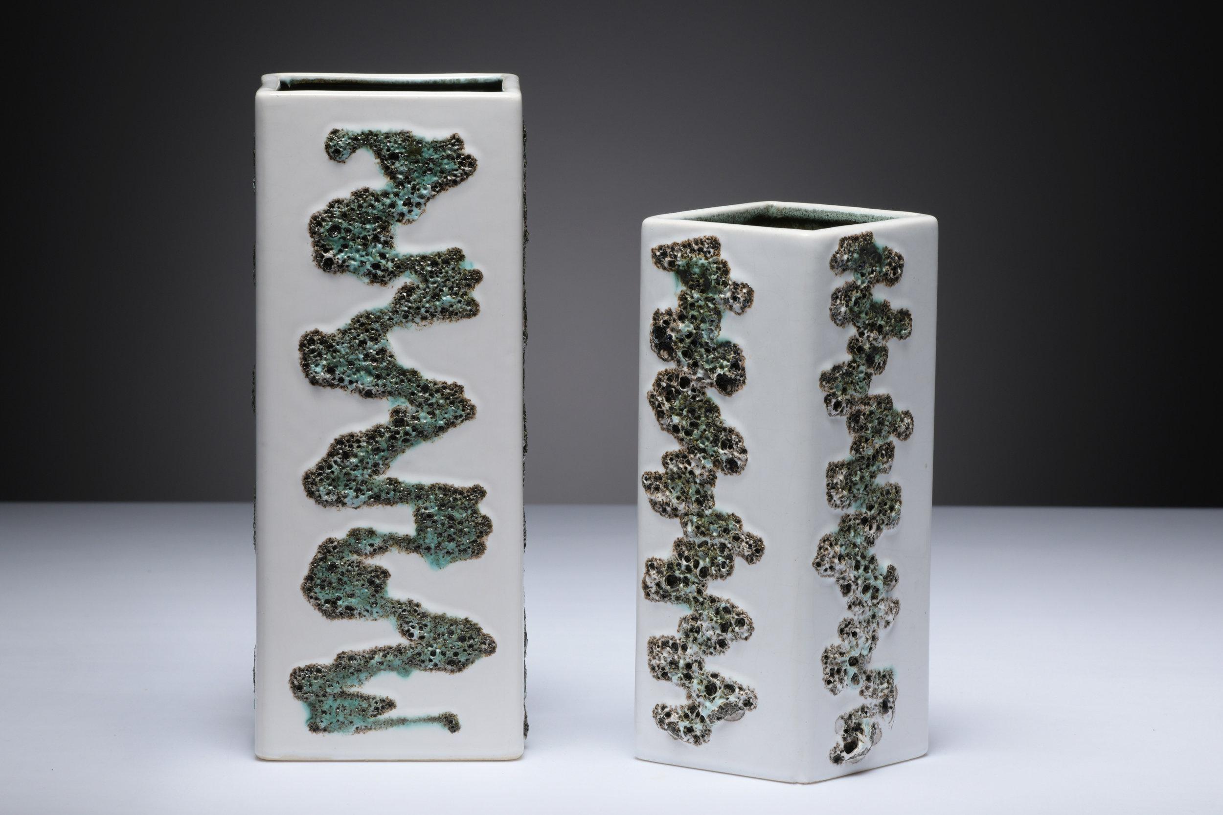 Fohr Keramik Fat Lava Zylindervase