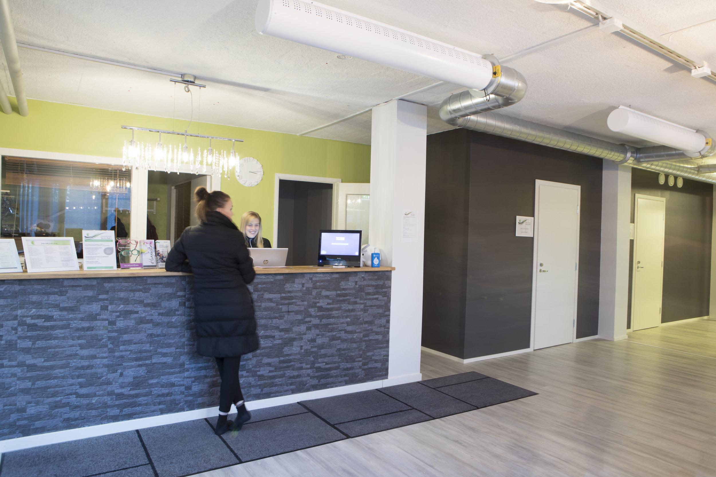 Upeat uudet tilat ovat toimineet hienosti ja asiakkaita on ilo palvella tiskin takana.