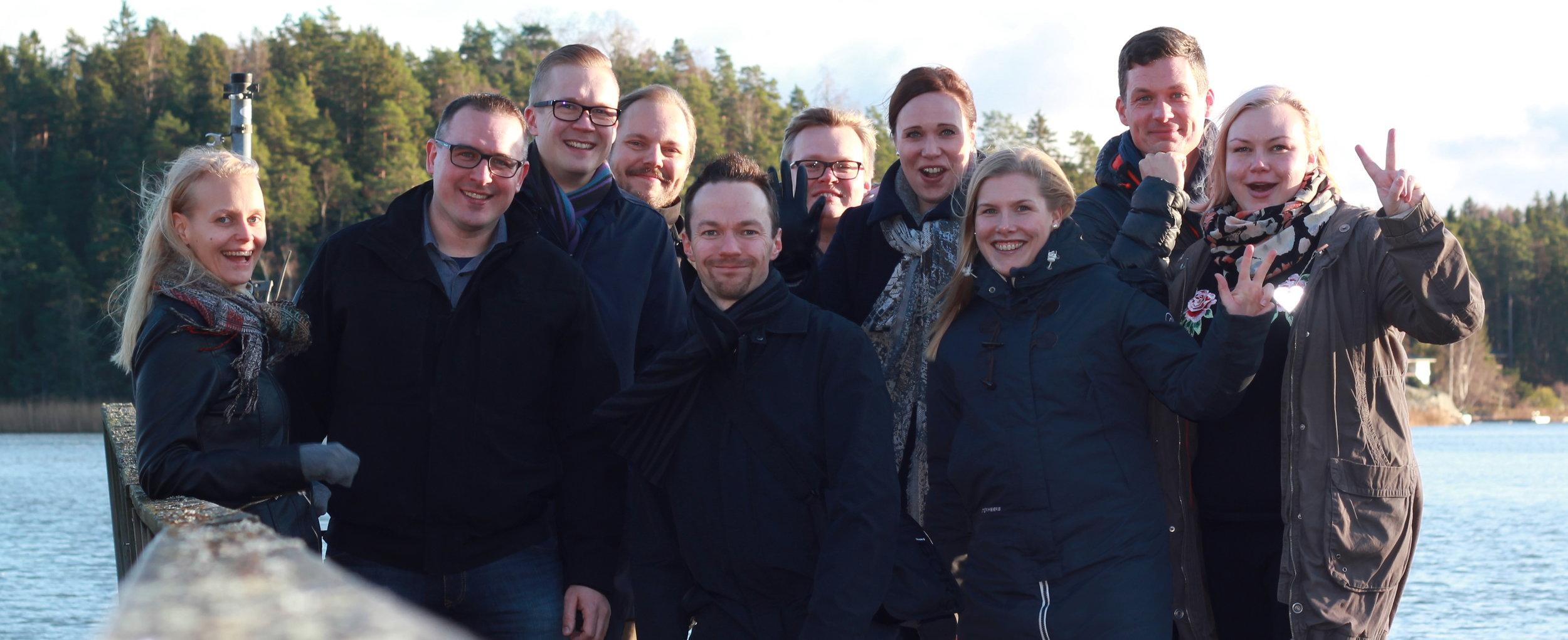 Toimin Rauman nuorkauppakamarin puheenjohtajan vuonna 2018. Nuorkauppakamariverkosto on itselle ollut kaikkein merkittävin!