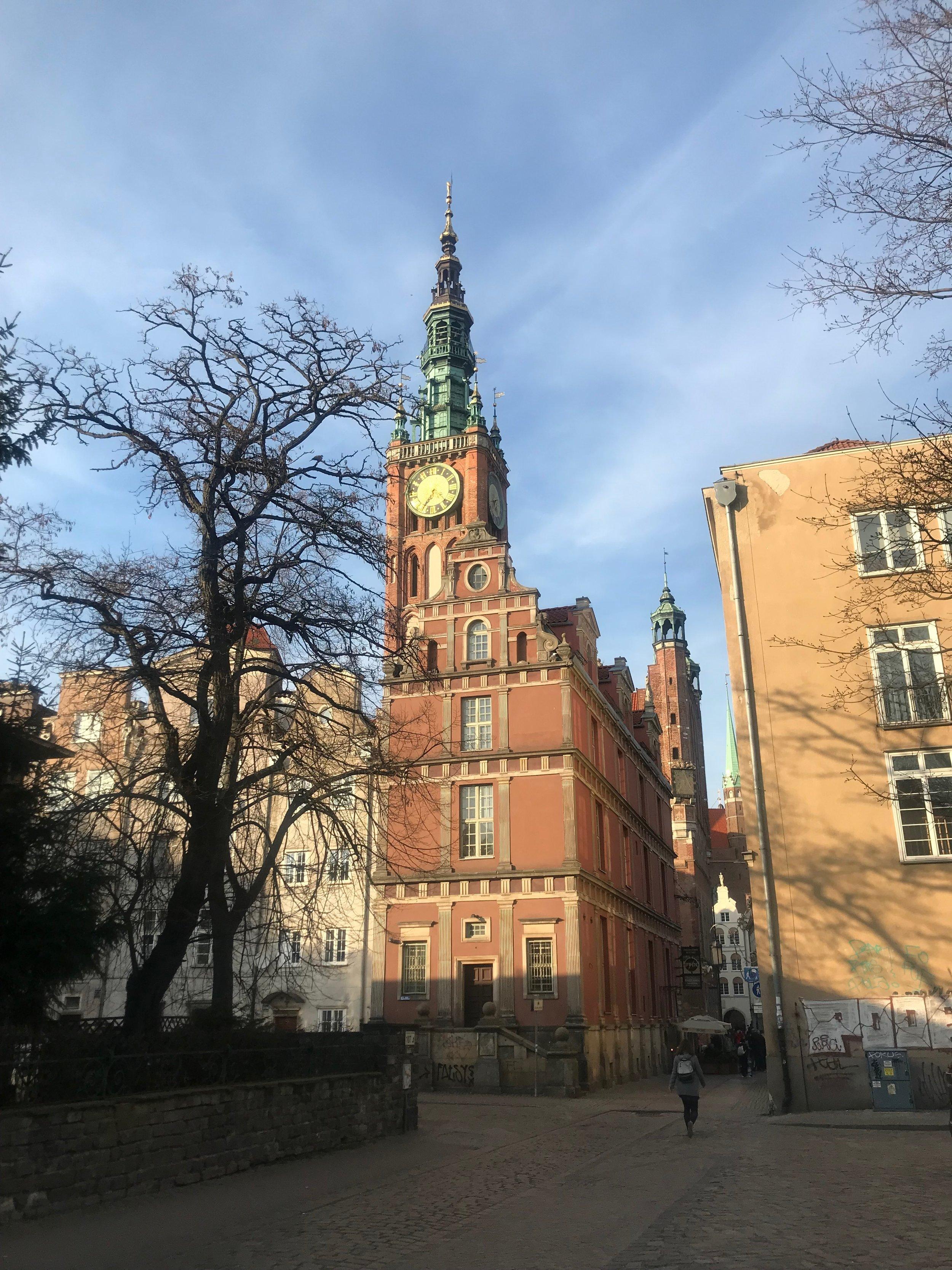 Marian kirkon torniin voi kiivetä ihailemaan maisemia!