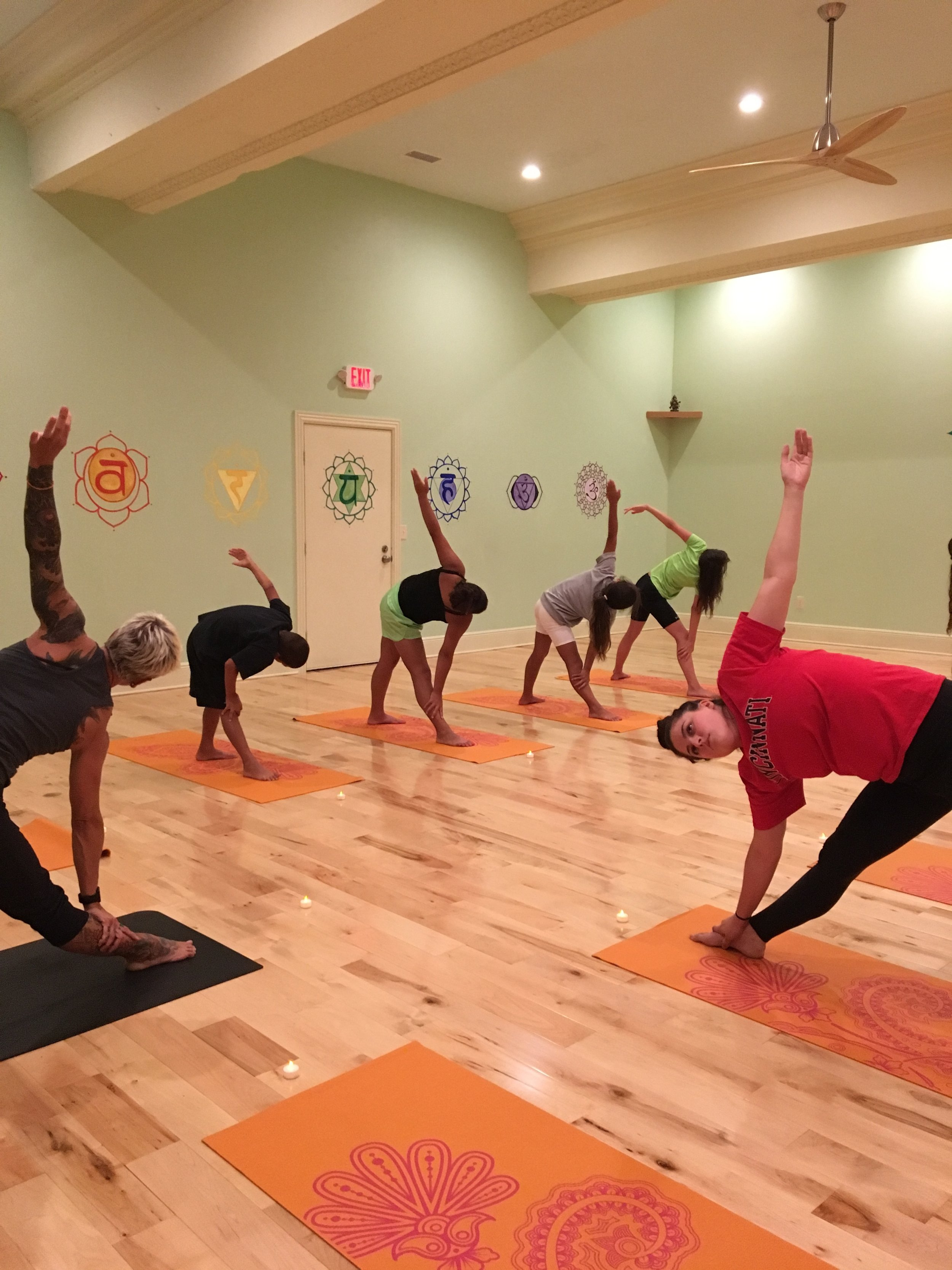 Gina Fennell, executive director of Project Yoga
