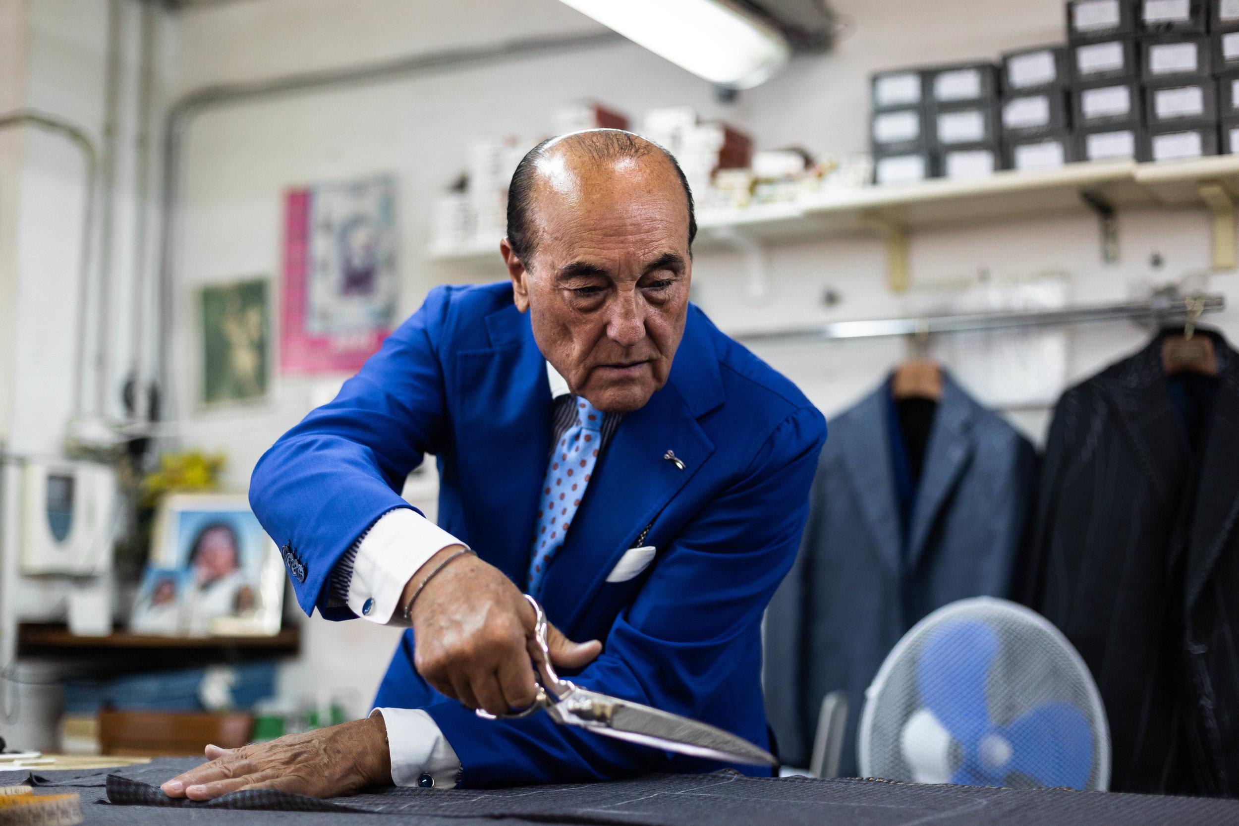 Orazio Luciano. - for The Rake Magazine.