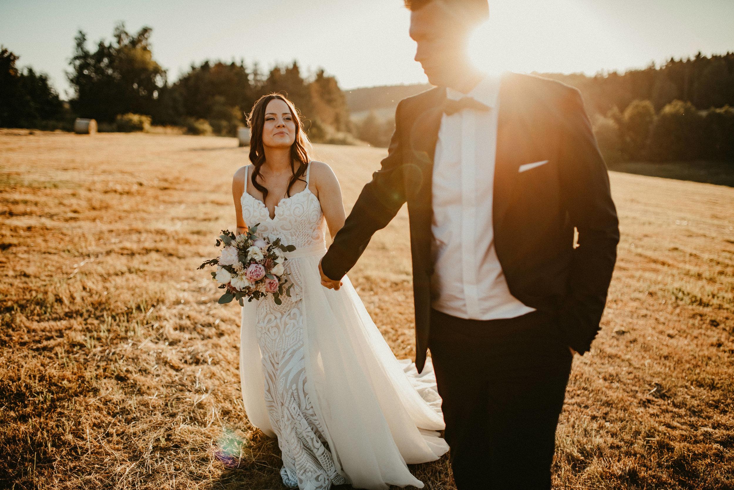 lisa & DANIEL - Vintage Wedding im Naturresort, Südharz