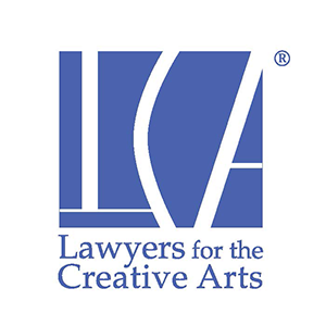In kind support provided by Lawyers for the Creative Arts