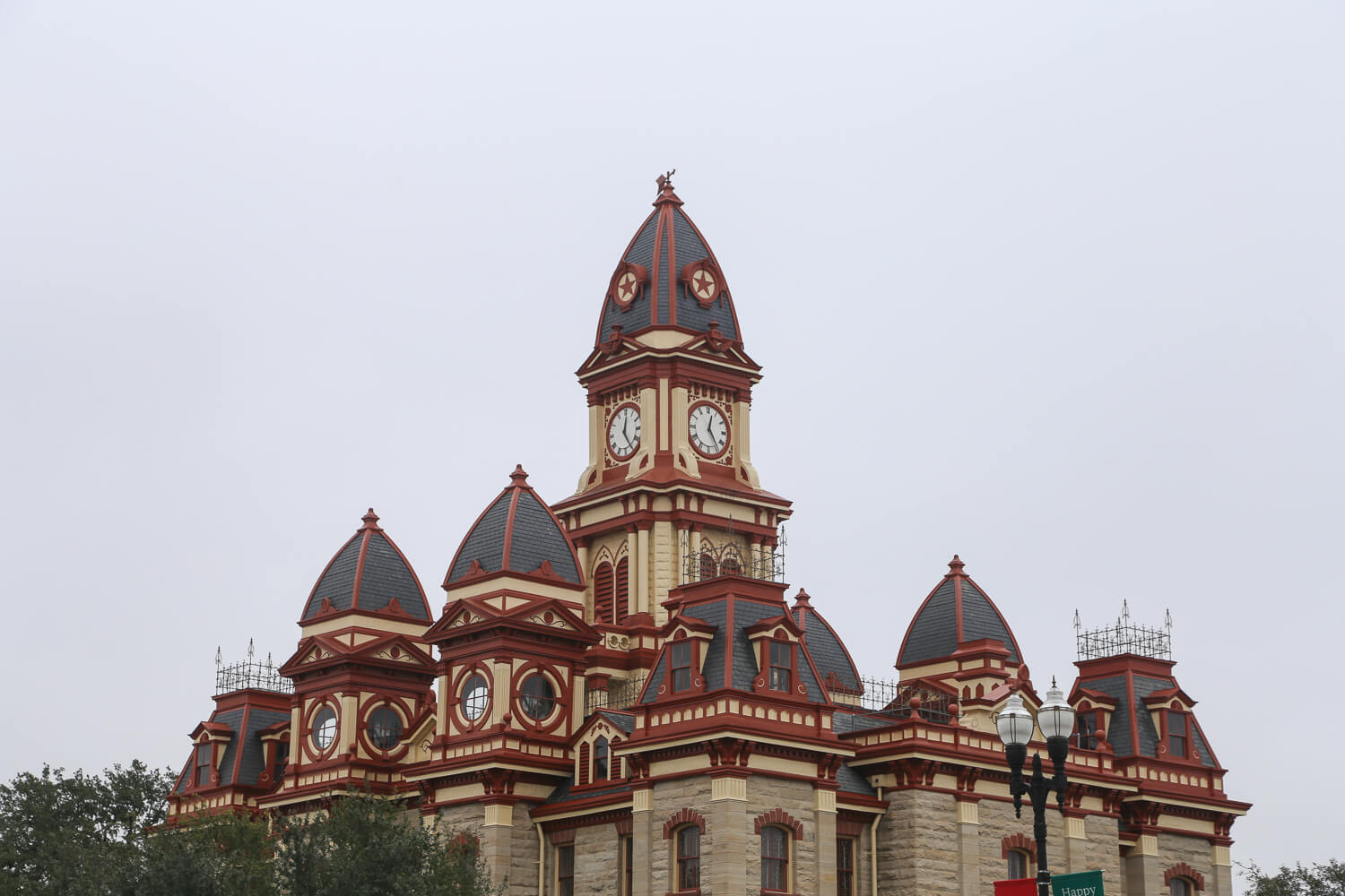 Historic courthouse in Lockhart Texas