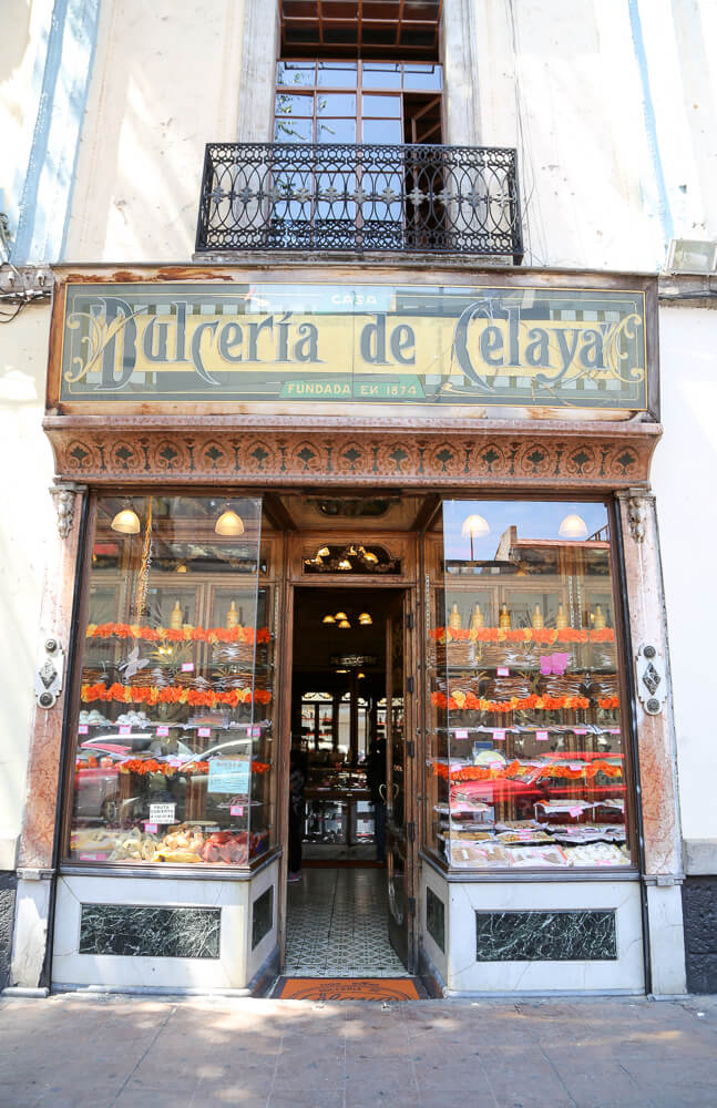 Dulceria de Celaya candy store in downtown Mexico City