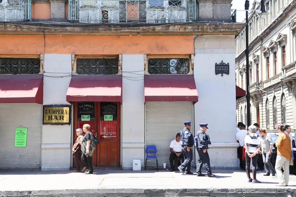 La Opera Bar in Mexico City