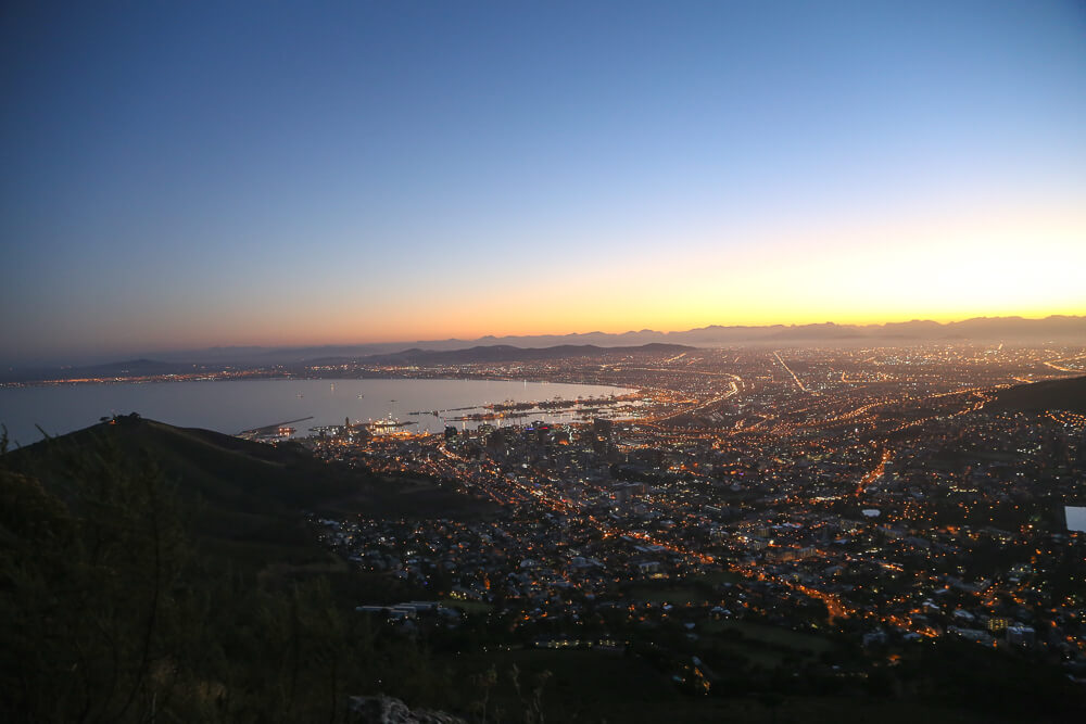The Sunrise from Lion's Head