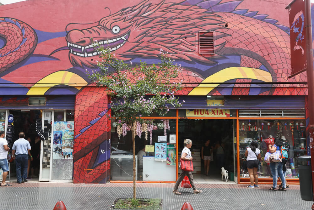How to visit Chinatown in Buenos Aires #Chinatown #BuenosAires #BarrioChino #Argentina