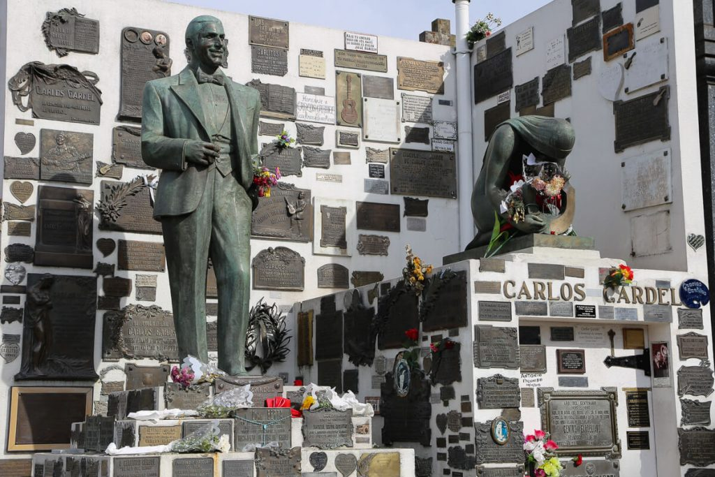 Chacarita Gardel's Grave