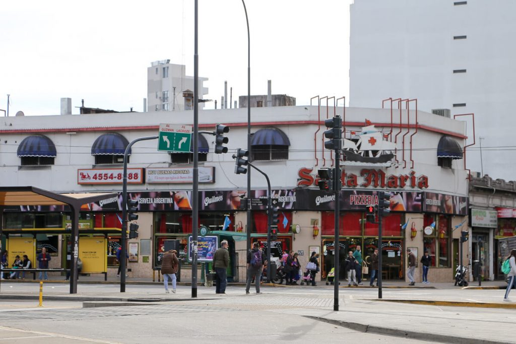 Pizzeria Santa Maria in Chacarita
