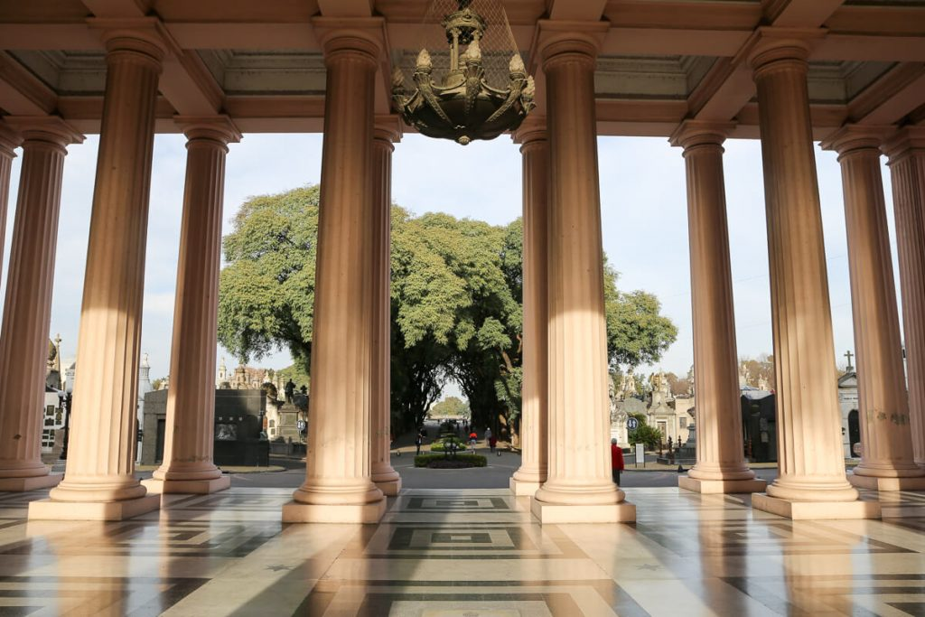 Chacarita cemetery entrance