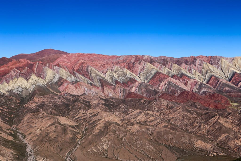 The 14 colored mountain of Humahuaca Jujuy