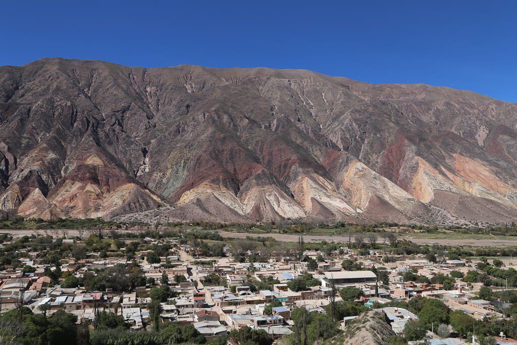 The painter's palette in Maimara Jujuy