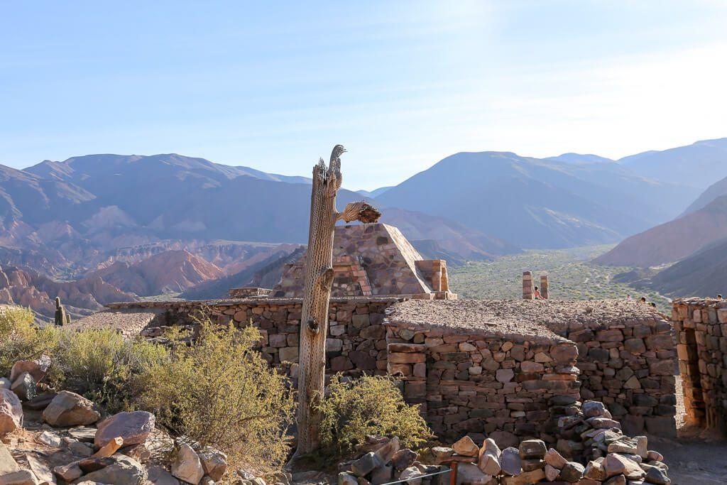 The ruins of Pucara in Tilcara Jujy