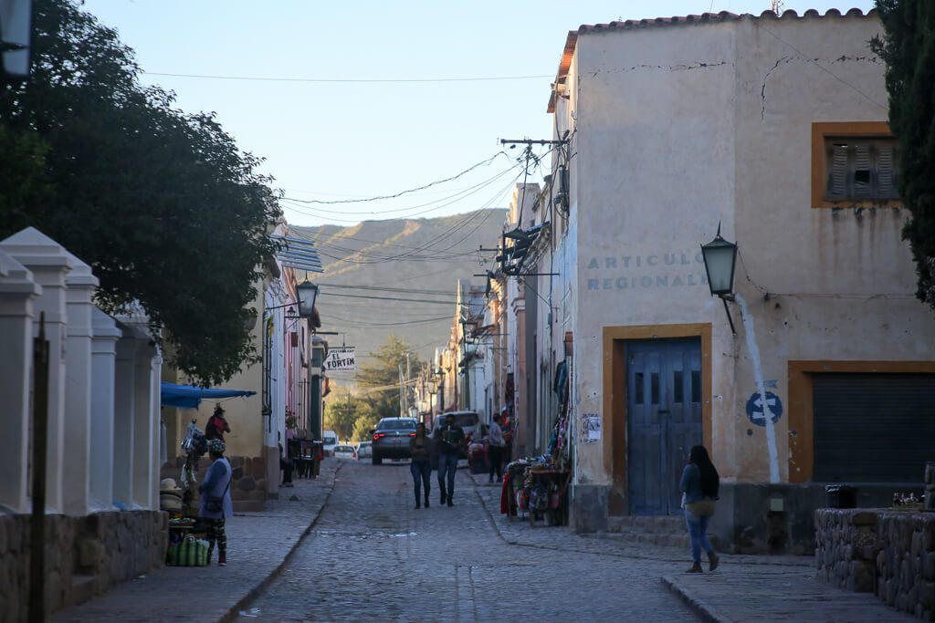 Three days in Jujuy the small town of Humahuaca