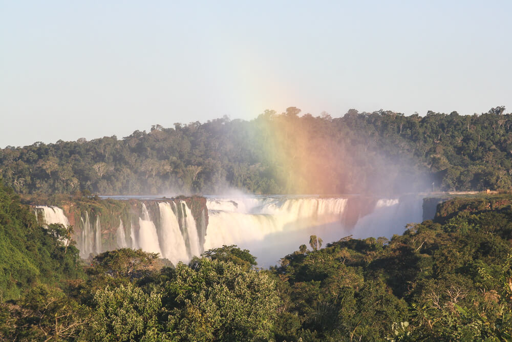 View from the window of our hotel in Iguazu National Park