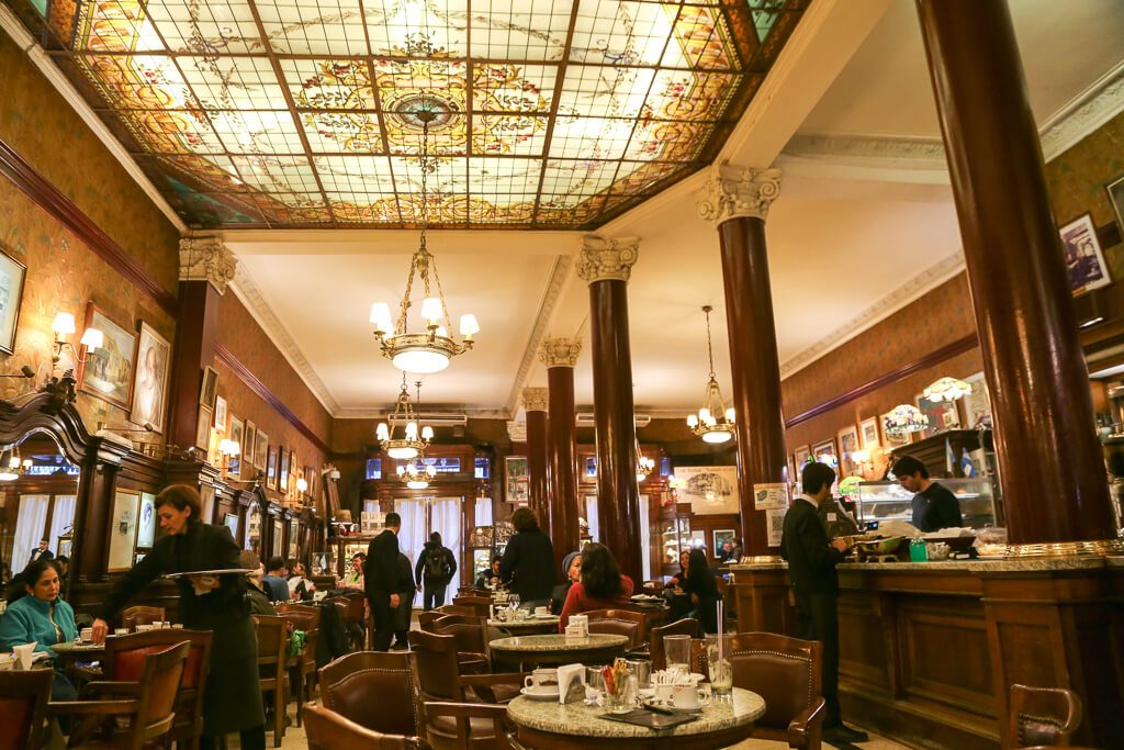 The oldest cafe in Buenos Aires Cafe Tortoni
