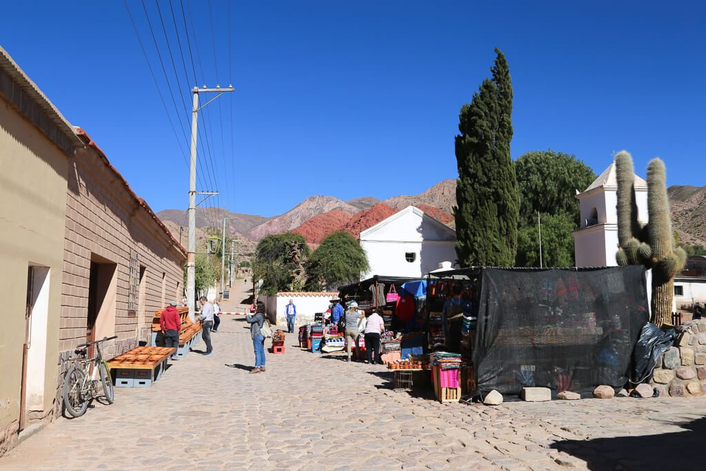 The town of Uquia in Jujuy