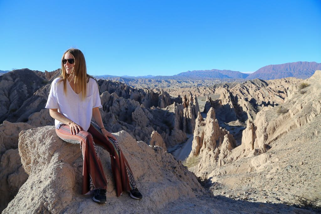 Quebrada de las Flechas in Salta on the way to Cafayate from Cachi