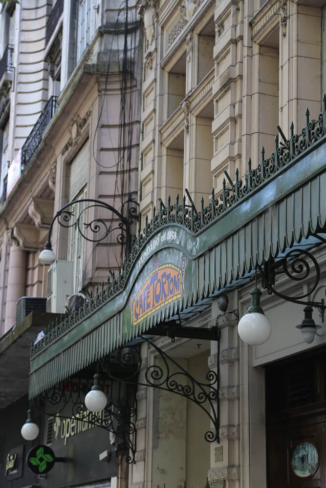 Cafe Tortoni in Buenos Aires