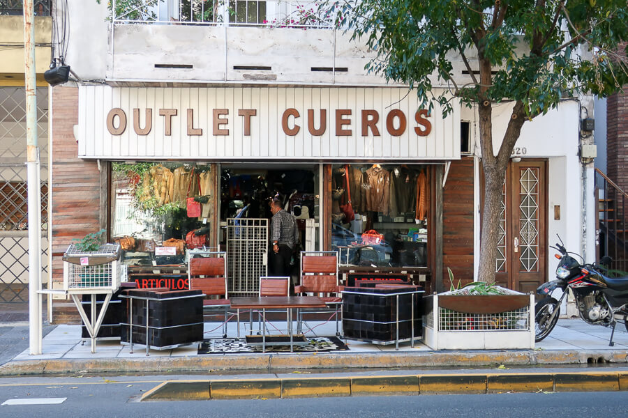 Where to buy leather in Buenos Aires