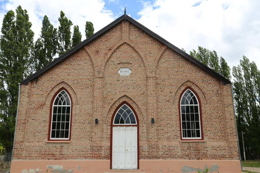 The new church in Gaiman
