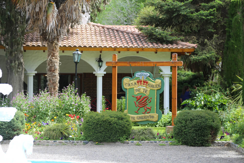 Welsh tea house in Gaiman, Chubut