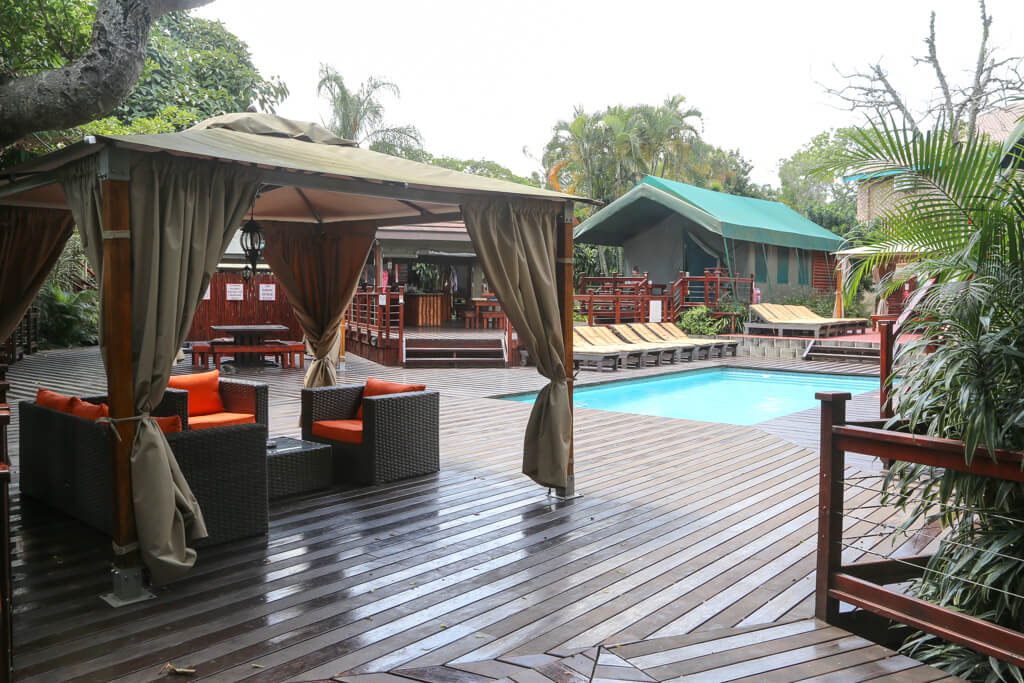 Best St. Lucia South Africa Accommodation at Monzi Backpackers Lodge