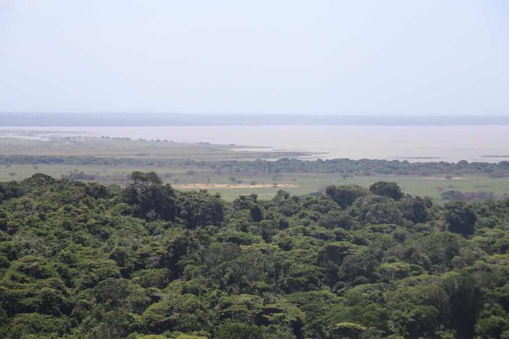 Lake St. Lucia in Kwa-Zulu Natal South Africa