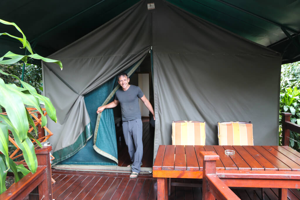 Best St. Lucia South Africa Accommodation at the Monzi Backpackers Tented Camp
