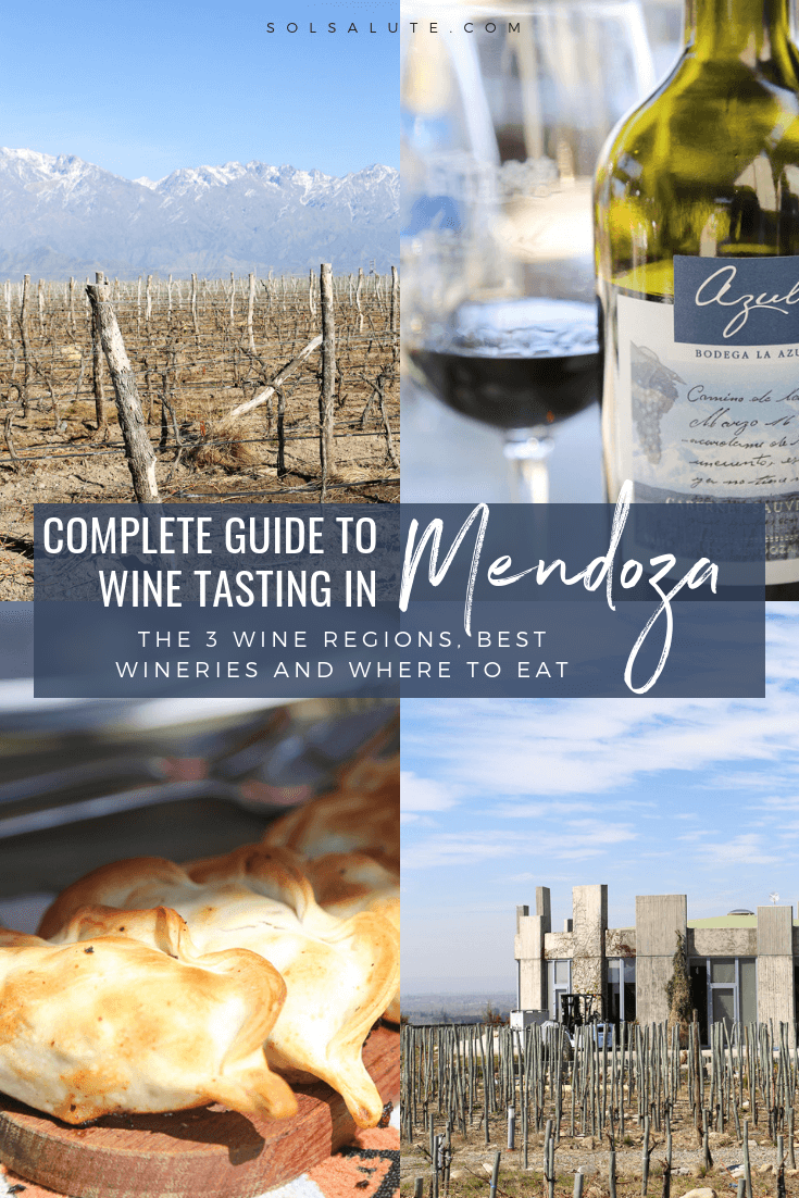 A complete guide the best wineries and three wine regions in Mendoza Argentina#Mendoza#Argentina#Malbec#WineTasting