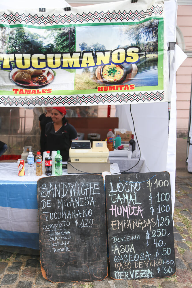 What to eat in the Mataderos Market Argentina