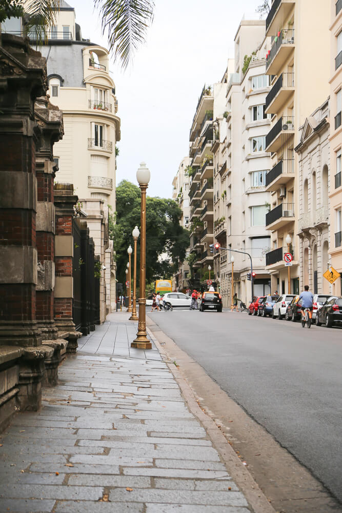 Historical mansions in Recoleta