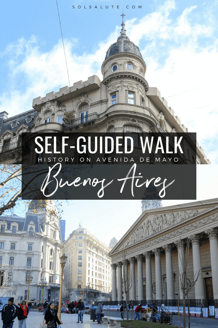 Self-guided walking tour of Avenida de Mayo Buenos Aires from Congress to the Casa Rosada #Argentina #BuenosAires via @solsalute