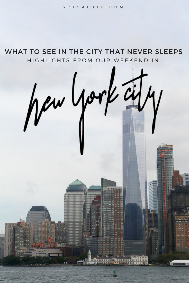 20 Instagram worthy photos of New York to inspire your next vacation! NYC highlights ranging from a free view of Lady Liberty to crossing the Brooklyn Bridge.