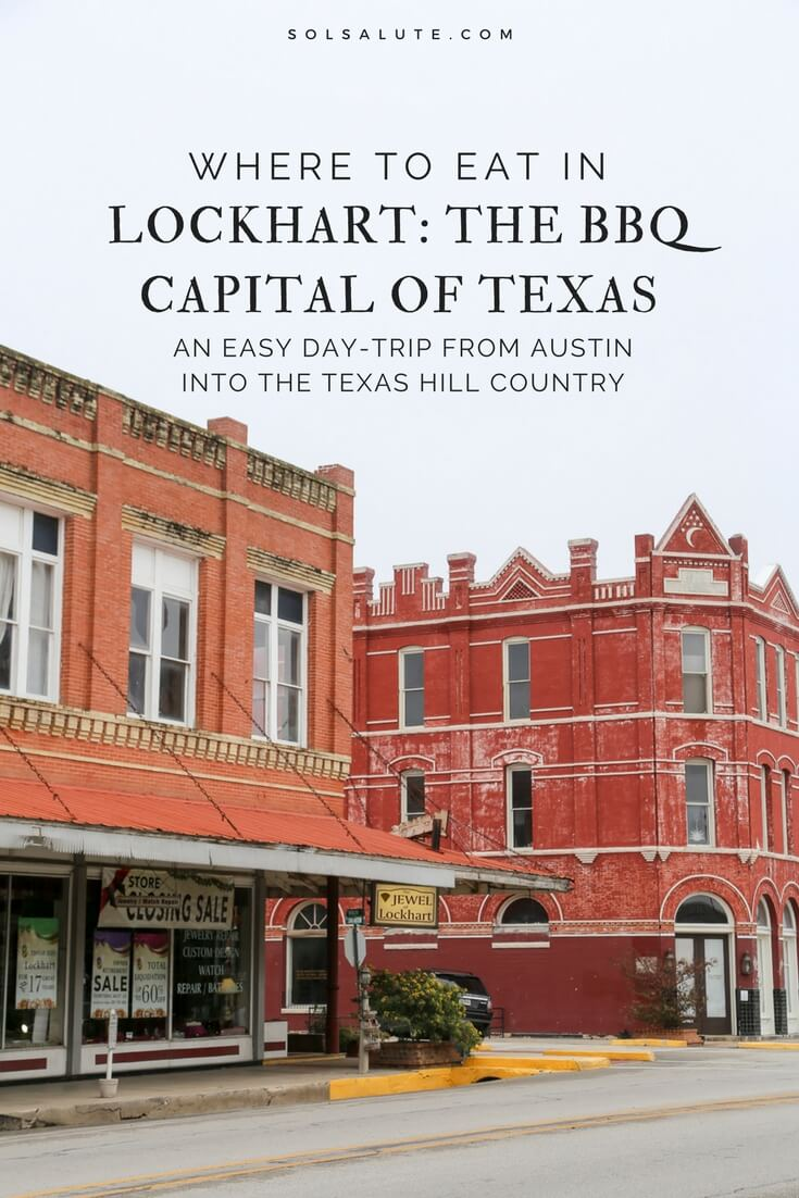 Where to eat the best BBQ in Lockhart Texas? Here's a complete breakdown of the best BBQ restaurants in The barbecue capital of Texas. #BBQ #Texas #FoodieTravels