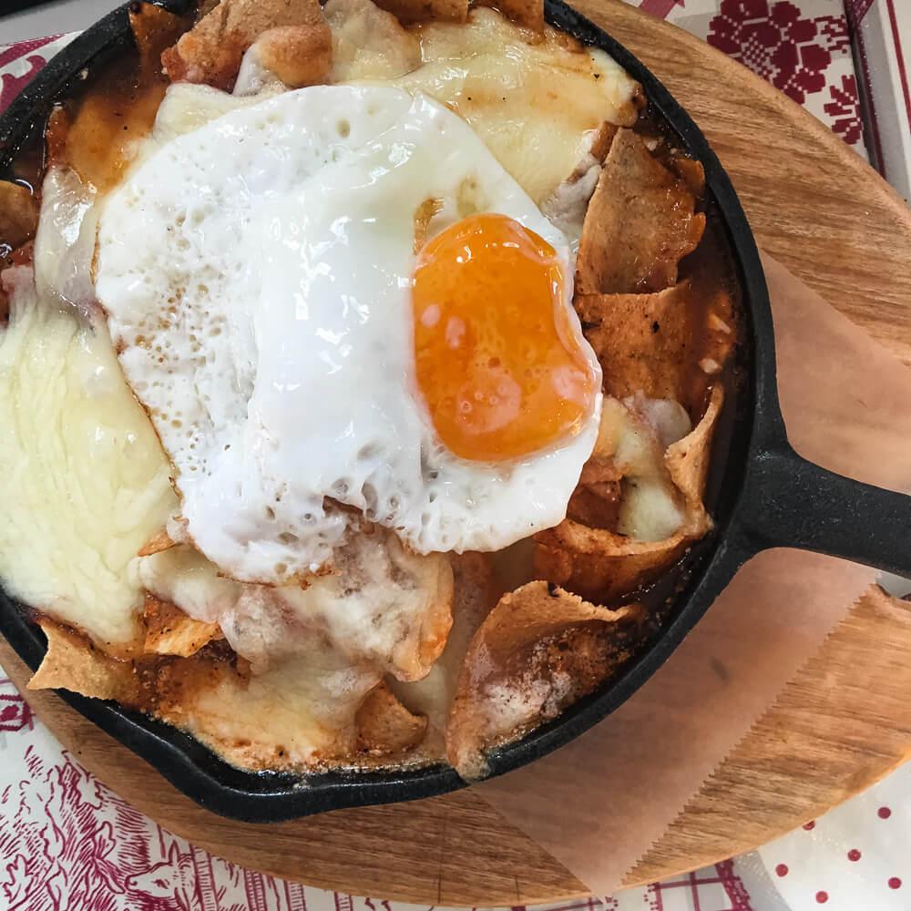 Best breakfast in Coyoacan in Mexico City