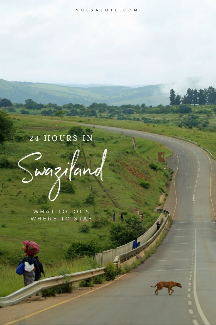 How to spend one day in Swaziland, a guid eto Mantenga Falls & Cultural Village. #swaziland #southafrica