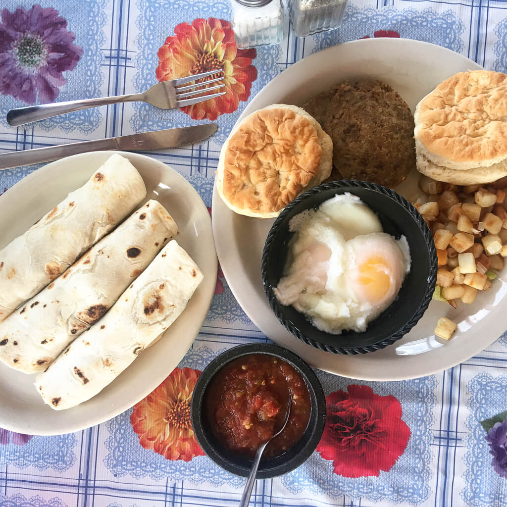 Best breakfast in Terlingua texas