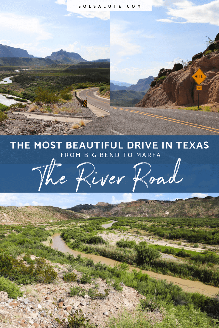 The River Road in West Texas connecting Big Bend National Park and Marfa, the most beautiful drive in Texas#texas#roadtrip