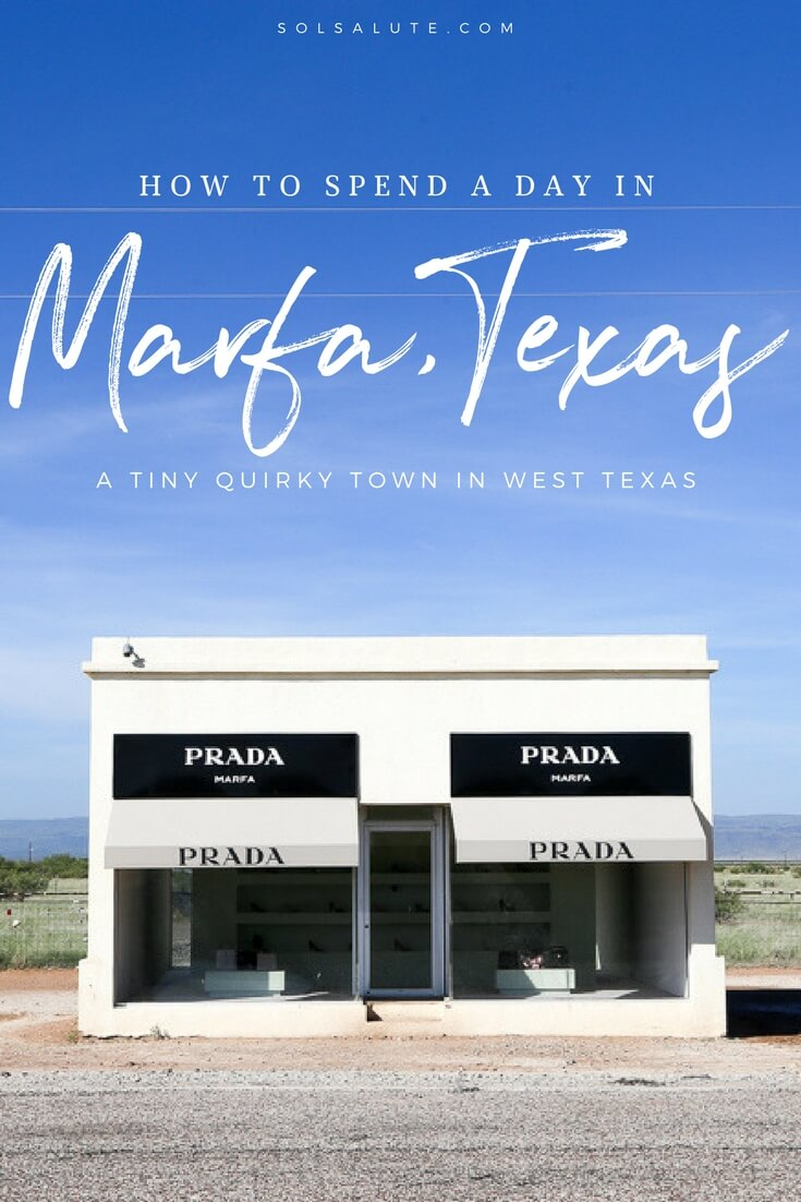 How to spend one day in Marfa, Texas. The perfect 1 day Marfa itinerary #WestTexas #Marfa #Texas