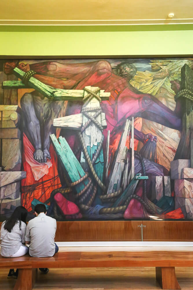 Where to see Diego Rivera in Mexico City, Best three Diego Rivera Murals, Mexican Muralism and a guide to the murals in Bellas Artes #MexicoCity #DiegoRivera #FridaKahlo #Mexico