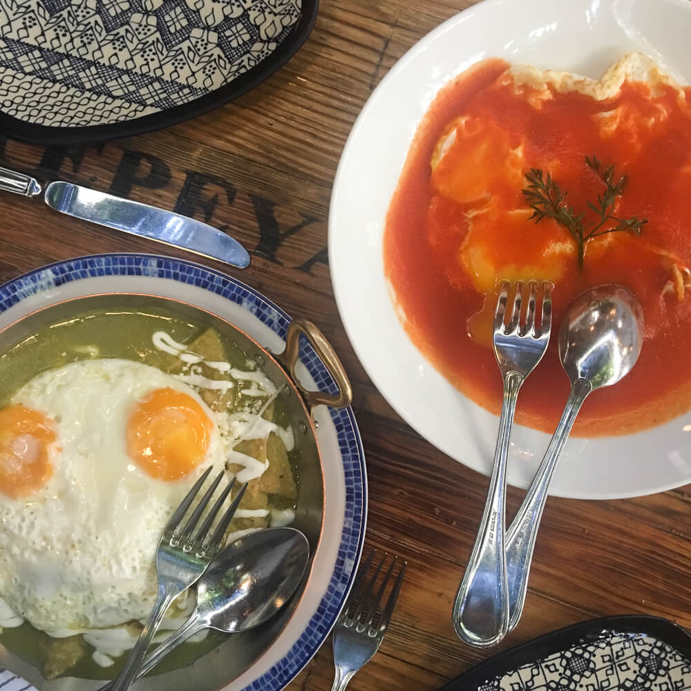 Where to have breakfast in Mexico City