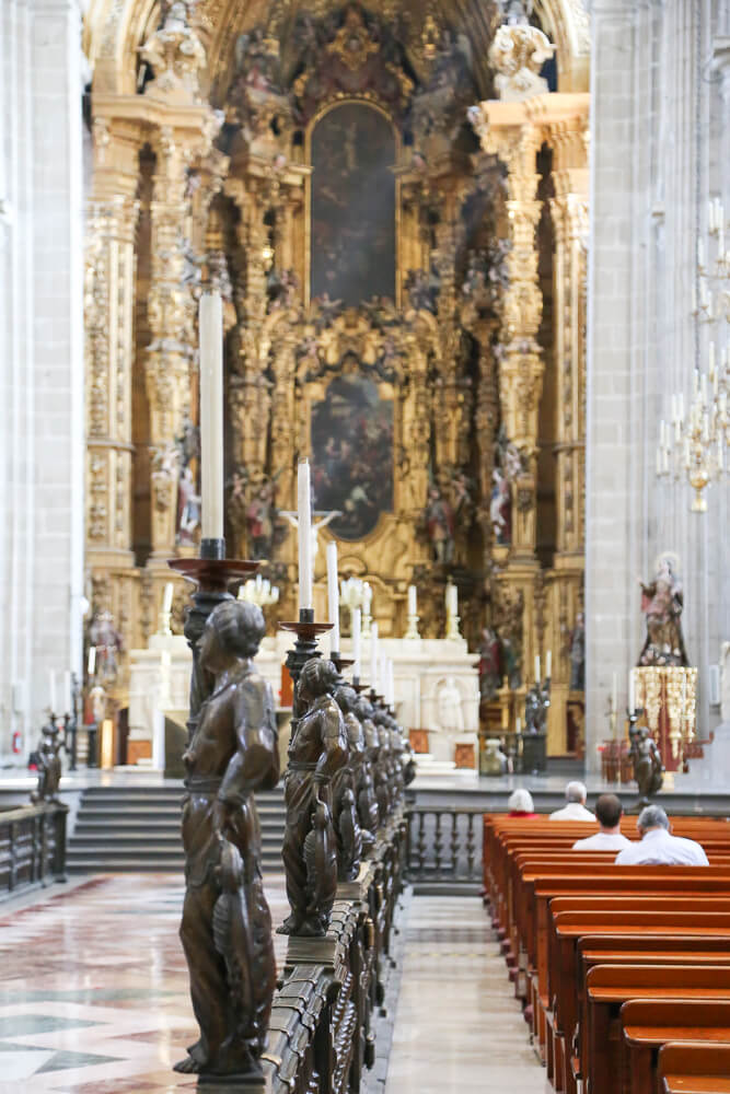 Spend one day in Mexico City at the Cathedral