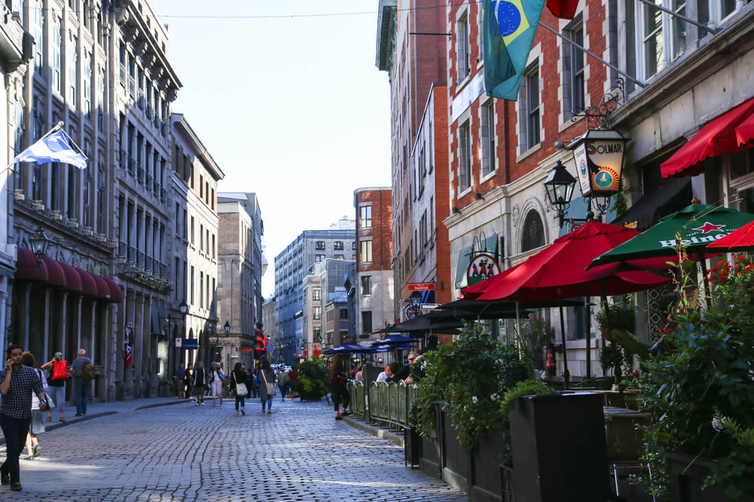 cheap things to do in Montreal explore old town Montreal