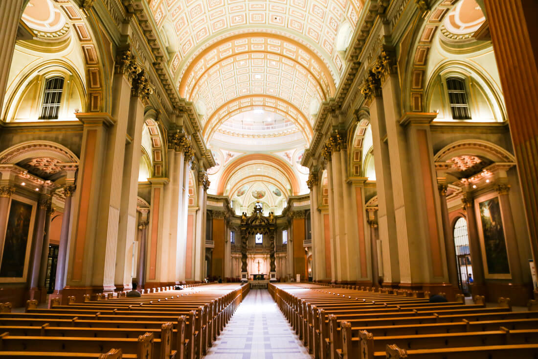 Visit the Vatican for free things to do in Montreal