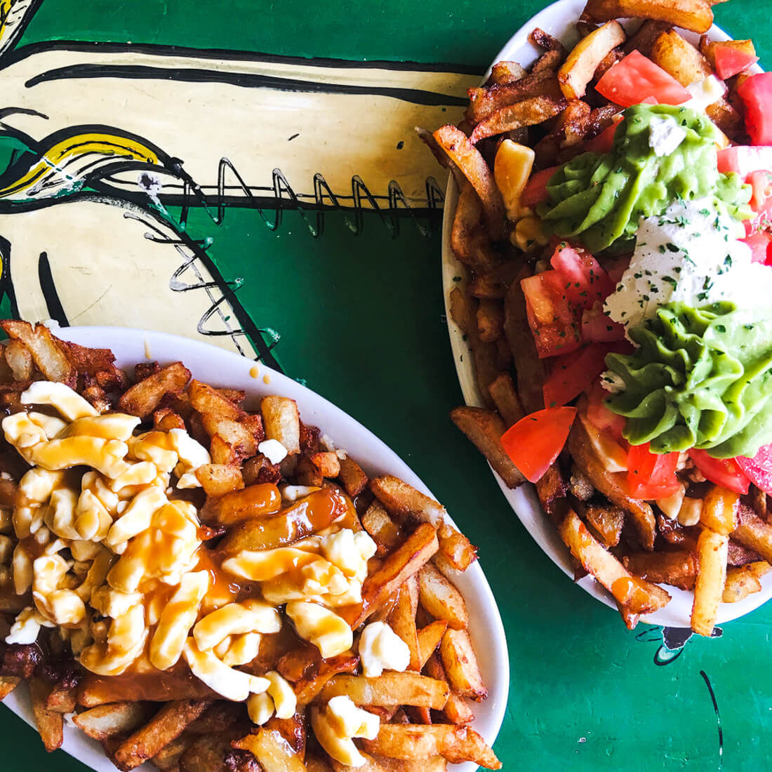 must eat Montreal, Where you have to eat in Montreal canada, The best poutine in Montreal #Montreal #Canada